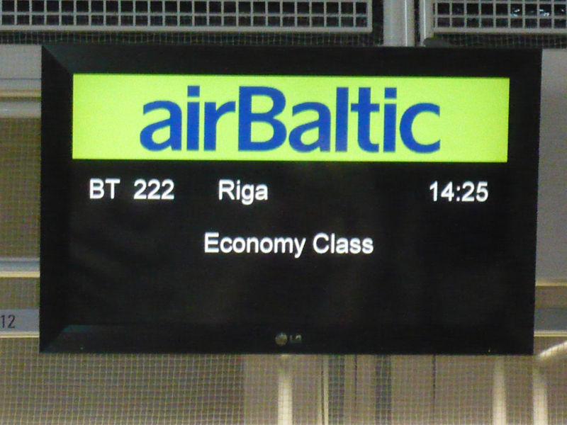 airbaltic flug nach riga. Black Bedroom Furniture Sets. Home Design Ideas